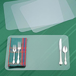 $8.99 and Under Kitchen Gadgets - Clear Plastic Placemats