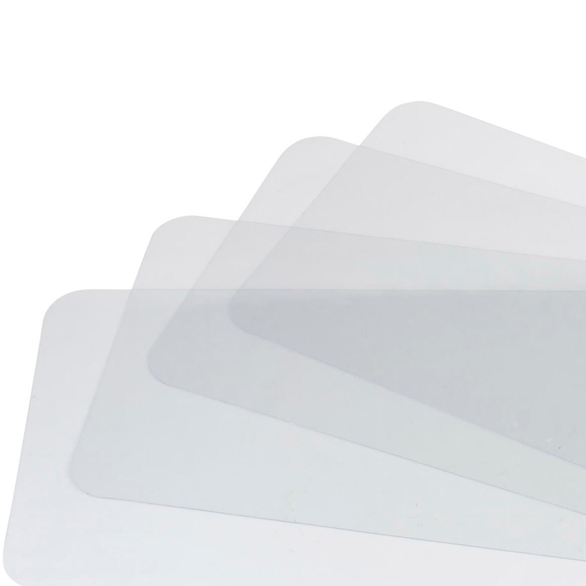 Clear Placemat Set/4-311564