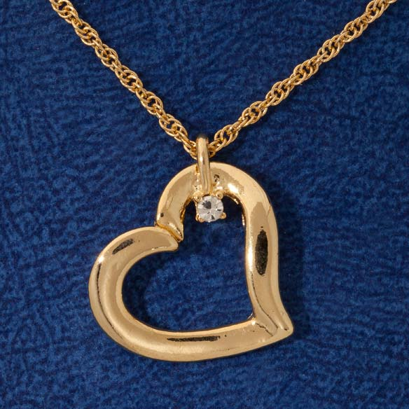 Family Gems™ Heart Necklace