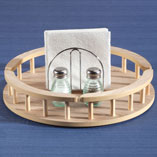 View All Storage & Holders - Large Wood Lazy Susan