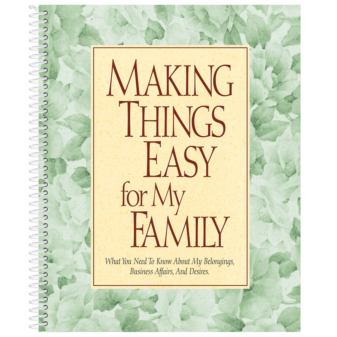 Family Organizer Book-311707