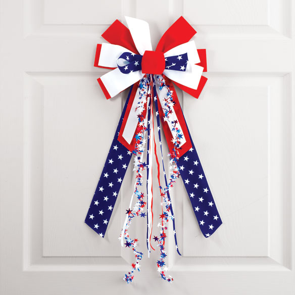 Stars and Stripes Bow