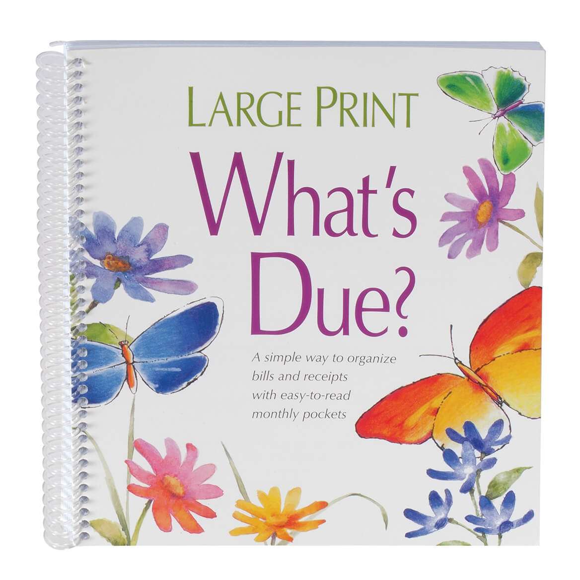 What's Due Organizer Book