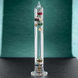 Clocks, Frames & Candles - Galileo Thermometer