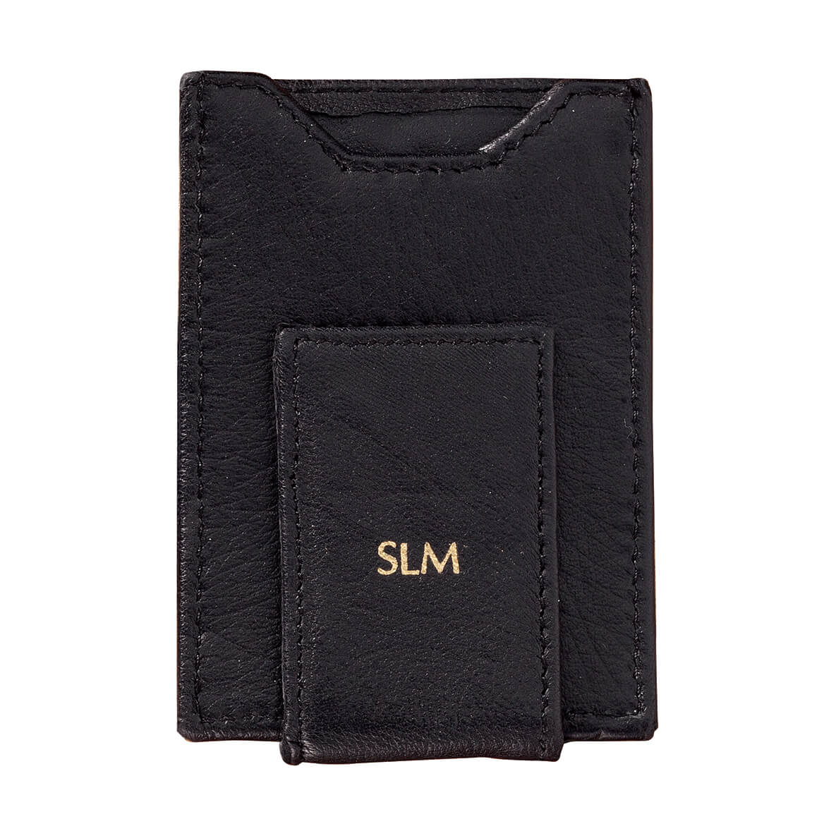 Personalized Front Pocket Wallet with Money Clip