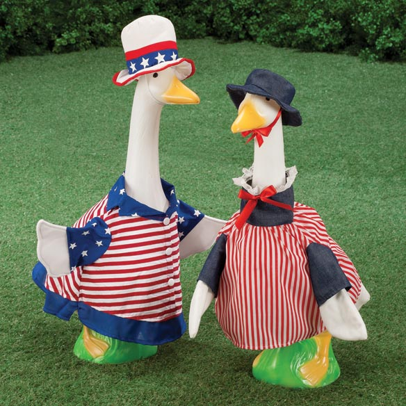Sammy Goose and Betsy Goose Outfits