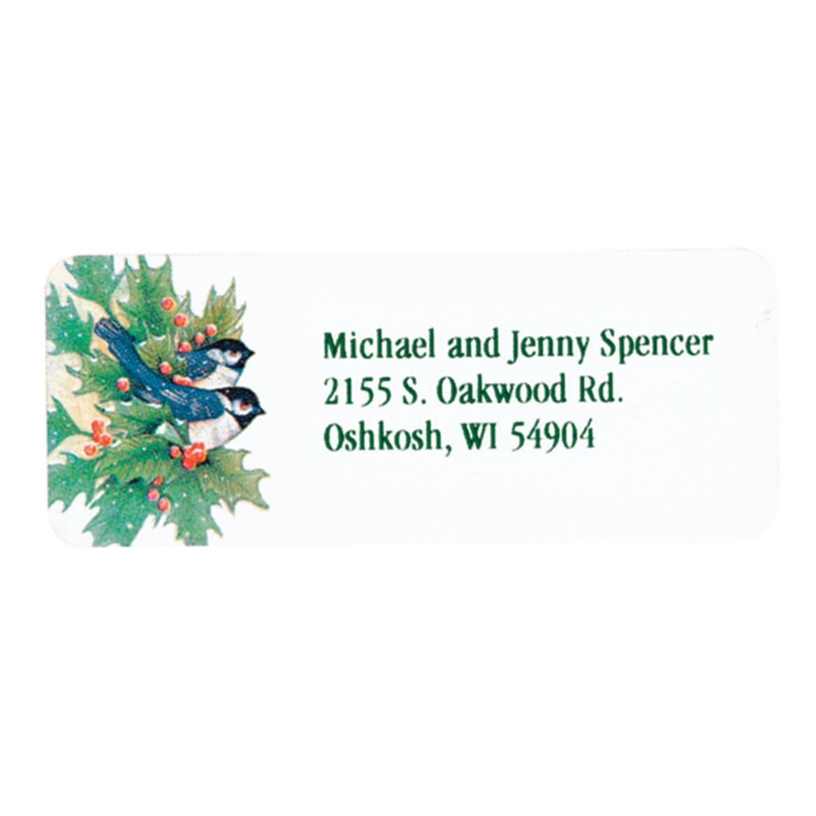 Winter Chickadee Labels 250-311968