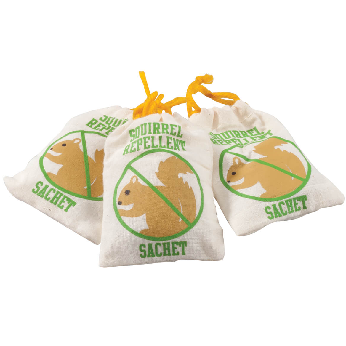 Squirrel Chasers, Set of 3