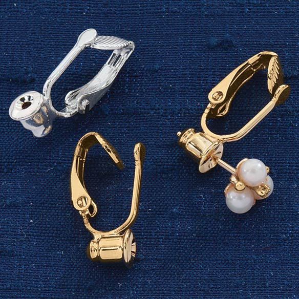 Clip On Earrings Converter - 6 Pair - View 1