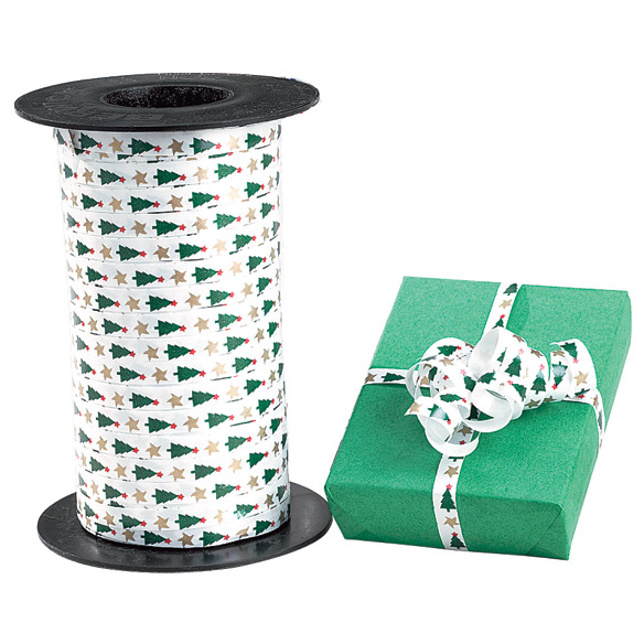 Christmas Tree Curling Ribbon