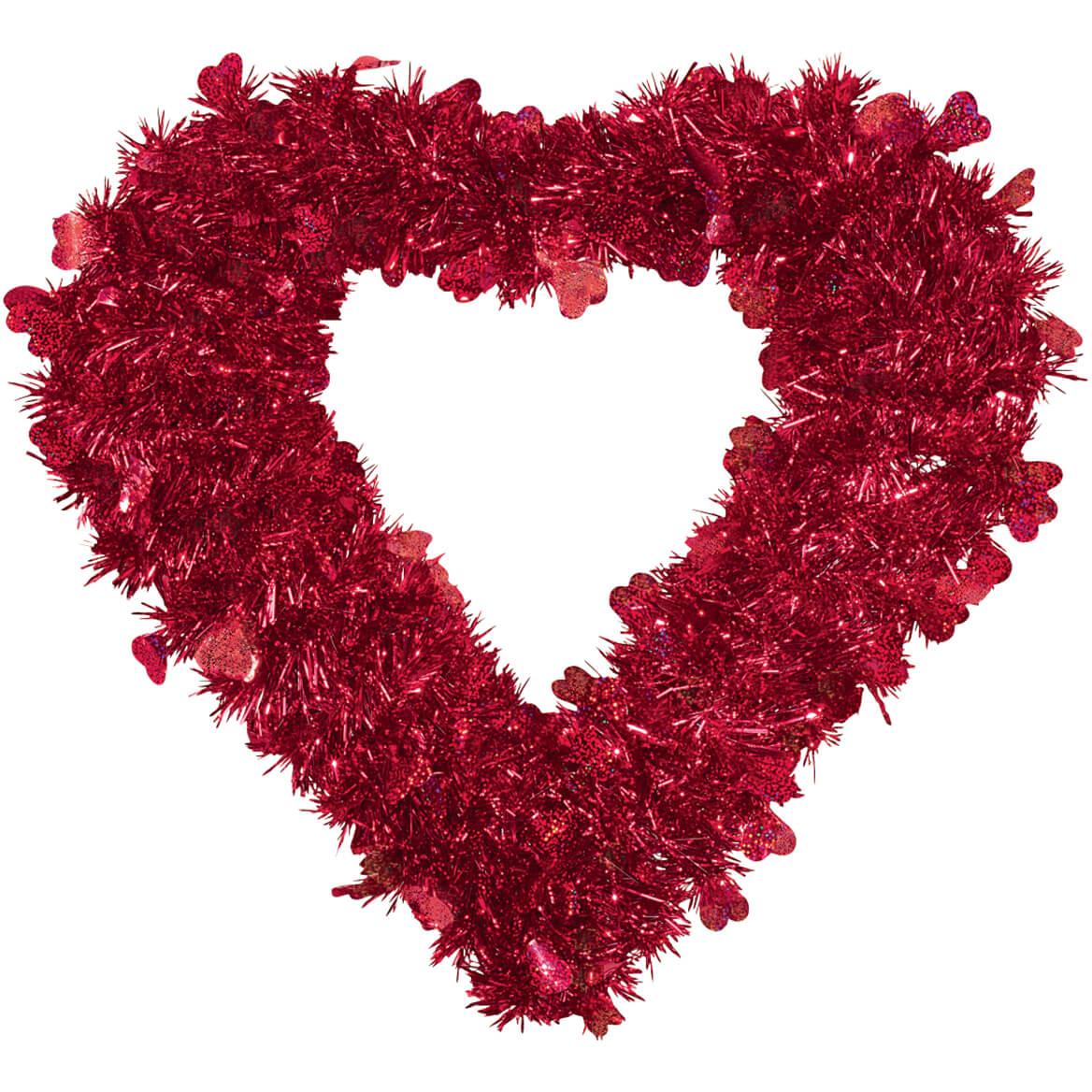 Valentine Glitter Wreath