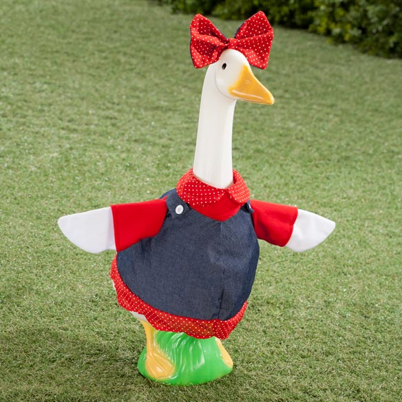 Patriotic Goose Outfit - Dolly