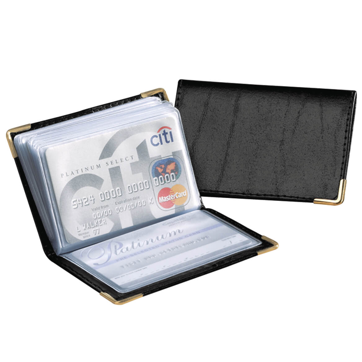 Leather Credit Card & Photo Wallet-312374