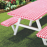 Patio & Grill - Deluxe Elastic Picnic Table Cover