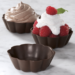 Dark Chocolate Dessert Cups