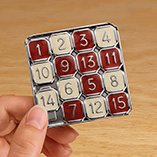 Puzzles, Games & Playing Cards - 15 puzzle