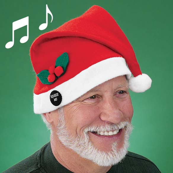 Musical Santa Hat