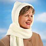 Hats, Scarves & Gloves - Hooded Scarf