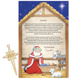 Christmas & Holidays - Inspirational Personalized Letter From Santa