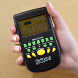Puzzles, Games & Playing Cards - Handheld Solitaire