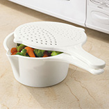 $8.99 and Under Kitchen Gadgets - 3 In 1 Microwave Pot