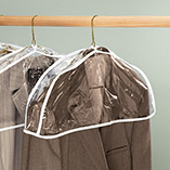 Storage & Organization - Hanging Garment Dust Covers - Set Of 6