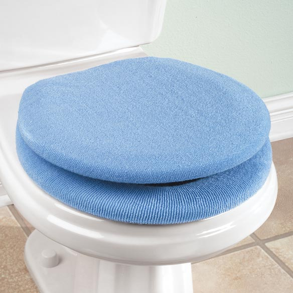 Lid and Toilet Seat Cover Set