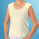 Undergarments & Sleepwear - Camisole With Shoulder Pads