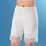 Undergarments & Sleepwear - Lace Pettipants - Short