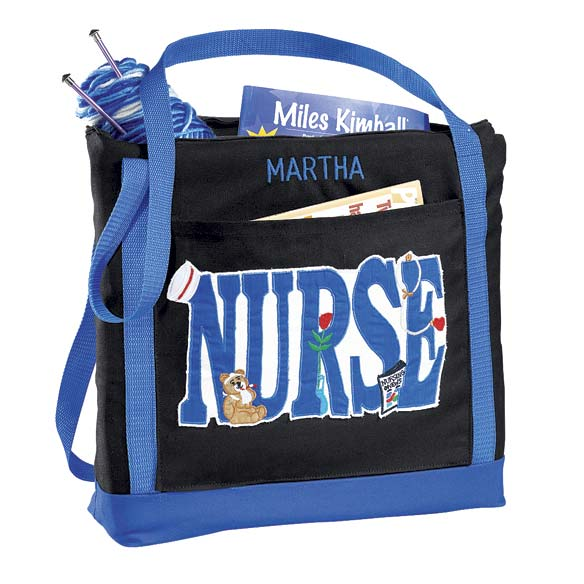 Personalized Nurse Tote Bag