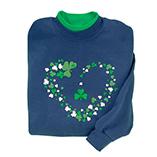 St. Patrick's Day - Shamrock Sweatshirt