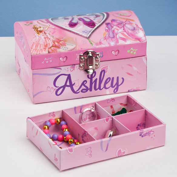 Personalized Ballet Jewelry Box
