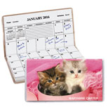 Home Office - Personalized Kitten 2 Year Pocket Planner