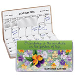 Home Office - Personalized Pansy 2 Year Pocket Planner