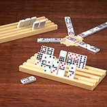 Puzzles, Games & Playing Cards - Domino Tile Holder - Set of 2