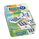 Puzzles, Games & Playing Cards - Double Nine Domino Set