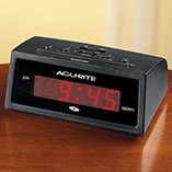 View All Clocks & Decorative Accents - Self Setting Alarm Clock