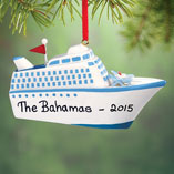 Ornaments - Personalized Cruise Ship Ornament