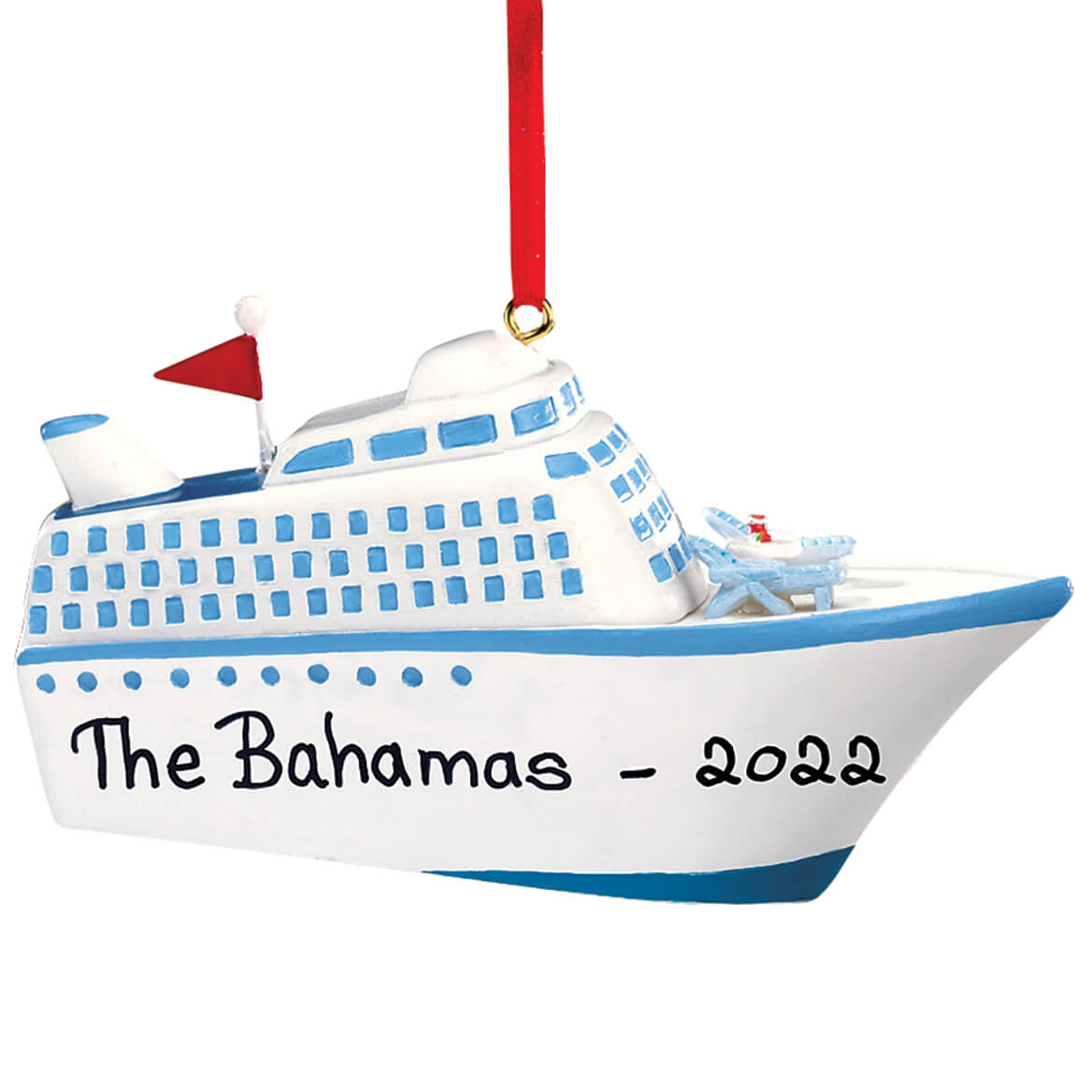 Personalized Cruise Ship Ornament-314168