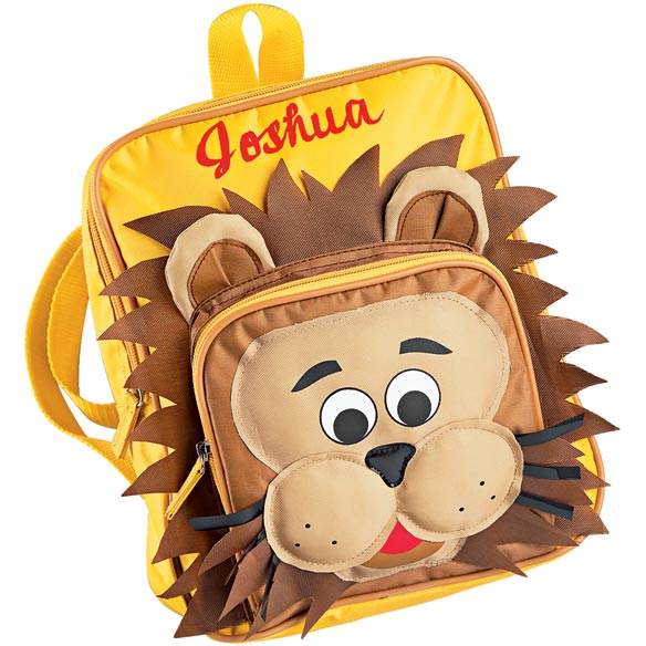 Personalized Lion Backpack