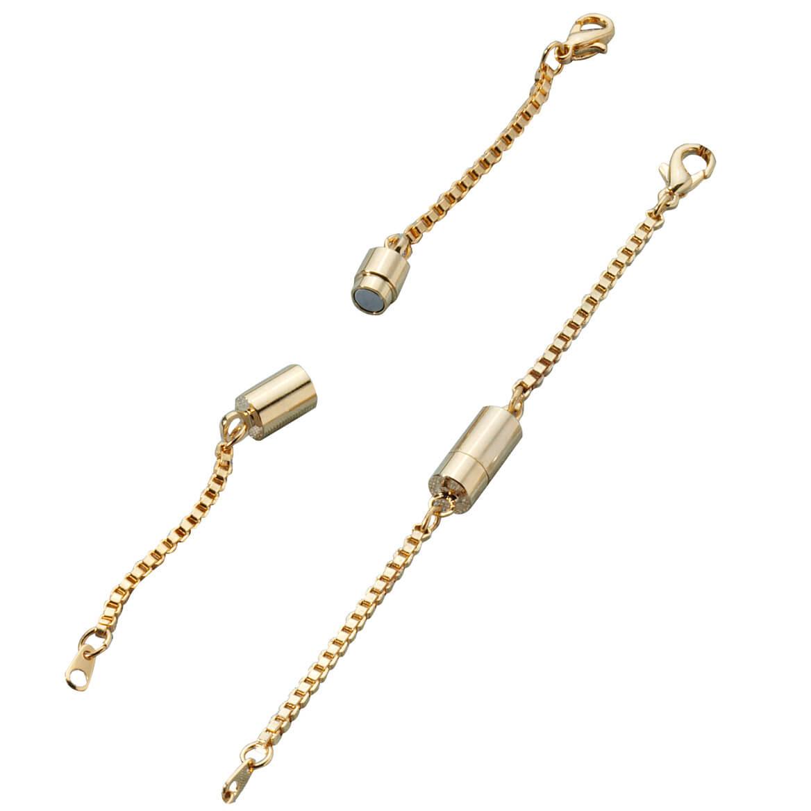 Magnetic Necklace Extender Set of 2