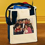 Custom Photo Gifts - Photo Canvas Tote