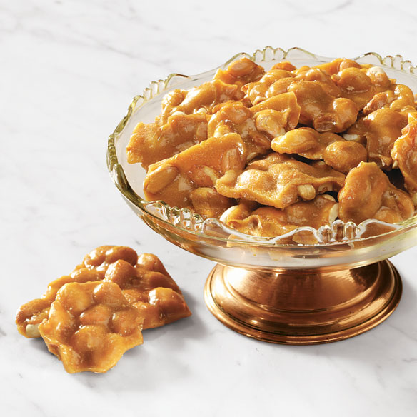 Original and Sugar-Free Peanut Brittle