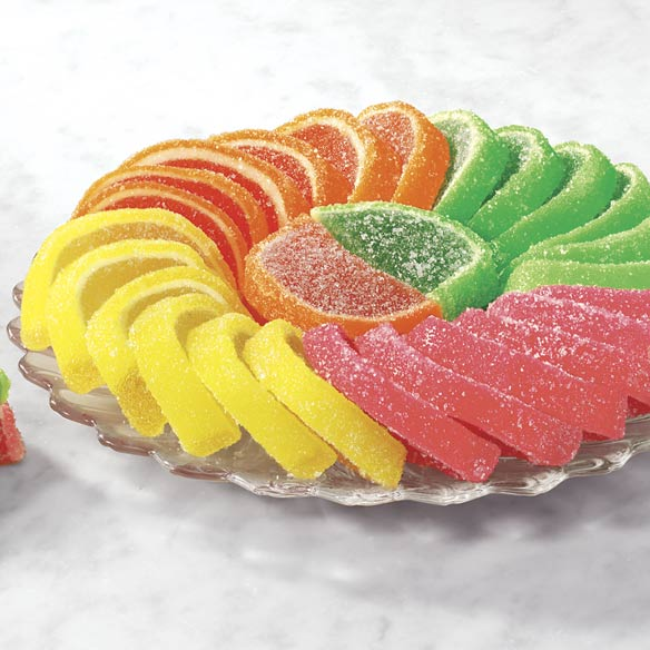 Jelly Fruit Slices Candy