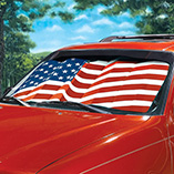 4th of July - Flag Auto Sunshade