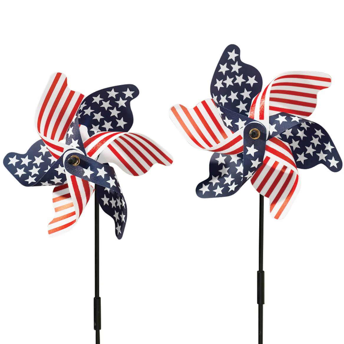 Patriotic Lawn Pinwheel Set of 2-315356