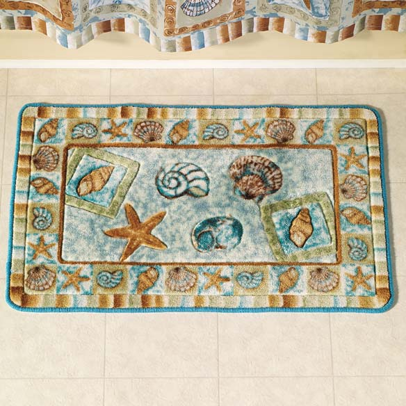 Seashell Bath Rug