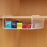 View All Storage & Holders - Under Shelf Wire Basket