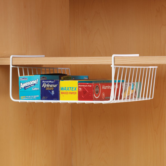 Under Shelf Wrap Holder