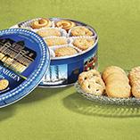 Cookies & Baked Goods - Danish Butter Cookies in Tin